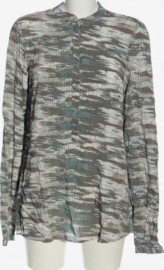 JETTE Langarm-Bluse in XL in braun / khaki / wollweiß, Produktansicht