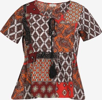 usha FESTIVAL Bluse in mischfarben / rot, Produktansicht