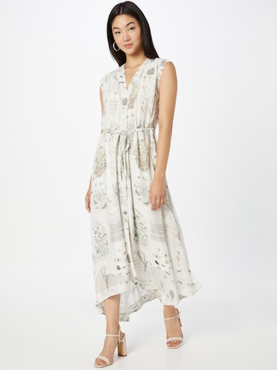 AllSaints Šaty 'Tate' - béžová / tmelová / svetlozelená / ružová, Model/-ka