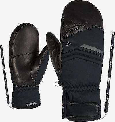 ZIENER Skihandschuhe 'KAHIL GTX' in schwarz, Produktansicht