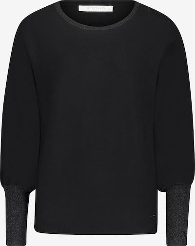 Betty & Co Strickpullover mit Lurexfaden in schwarz, Produktansicht