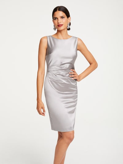 Patrizia Dini by heine Pouzdrové šaty - stříbrně šedá, Model/ka