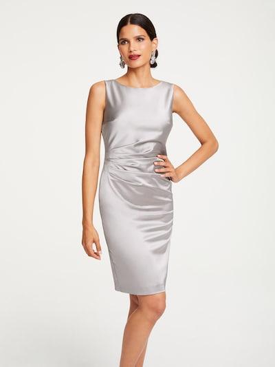 Patrizia Dini by heine Etuikleid in silbergrau, Modelansicht
