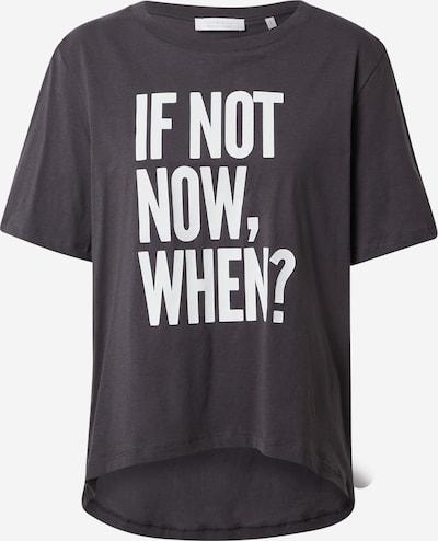 Rich & Royal T-Shirt in anthrazit / weiß, Produktansicht