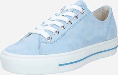 Paul Green Schnürschuh in hellblau, Produktansicht