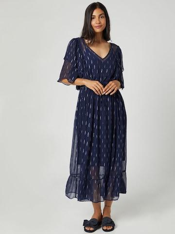 Guido Maria Kretschmer Collection Kleit 'Charis', värv sinine