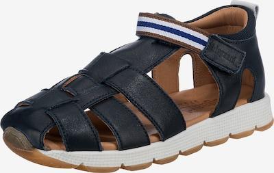 BISGAARD Sandals & Slippers in Dark blue / Brown / White, Item view