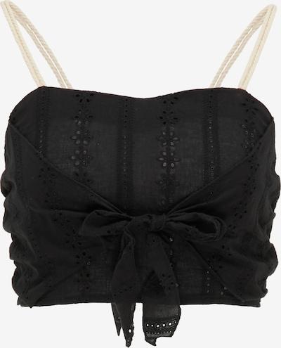 MYMO Top | črna barva, Prikaz izdelka