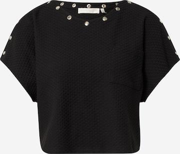 juoda Guido Maria Kretschmer Collection Marškinėliai 'Fabia'