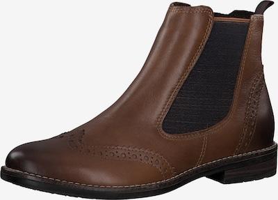 MARCO TOZZI Stiefelette in braun / schwarz, Produktansicht