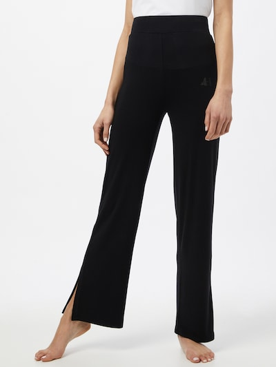 CURARE Yogawear Sports trousers in Black: Frontal view
