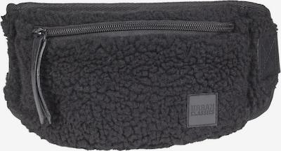 Urban Classics Schoudertas ' Sherpa Mini Hipbag ' in de kleur Zwart: Vooraanzicht