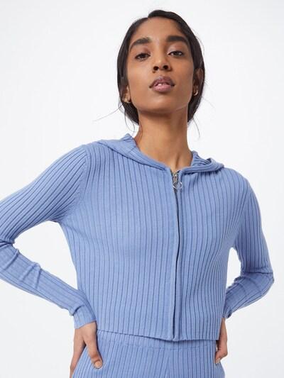 ABOUT YOU Суичъри с качулка 'Cassia Jacket' в синьо, Преглед на модела