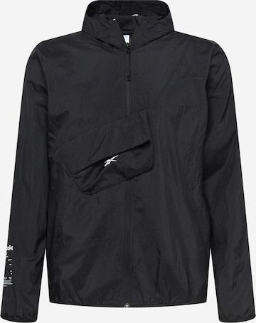 Reebok Sport Спортно яке в черно