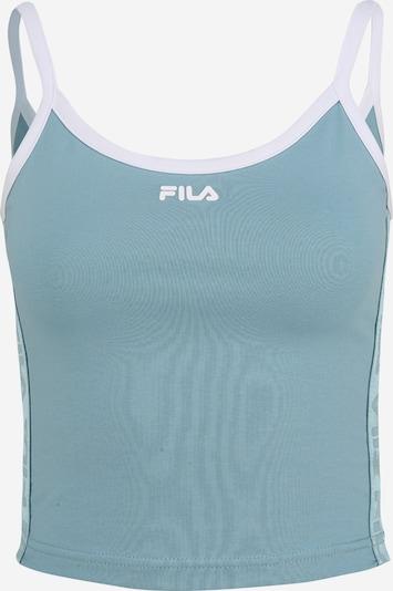 FILA Top 'NIA' u plava / bijela, Pregled proizvoda