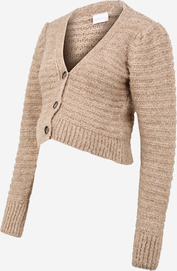 MAMALICIOUS Knit cardigan 'IZMIR' in Light beige, Item view