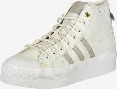 ADIDAS ORIGINALS Sneaker 'Nizza' in grau / weiß, Produktansicht