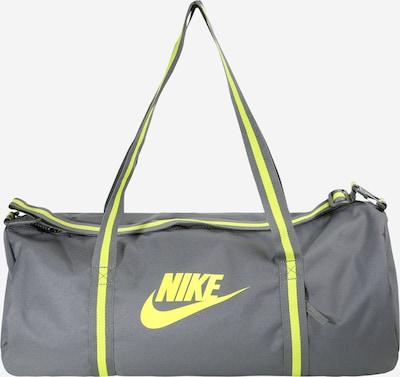 Nike Sportswear Reistas 'Heritage' in de kleur Neongeel / Grijs, Productweergave