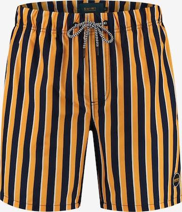 Shorts de bain Shiwi en jaune