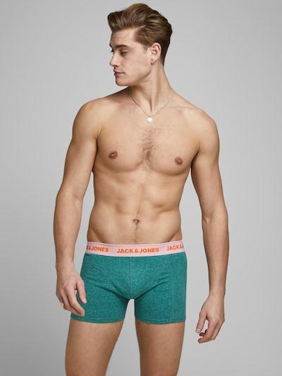 JACK & JONES Boxers 'SUPER TWIST' en bleu clair / gris clair / vert, Vue avec modèle