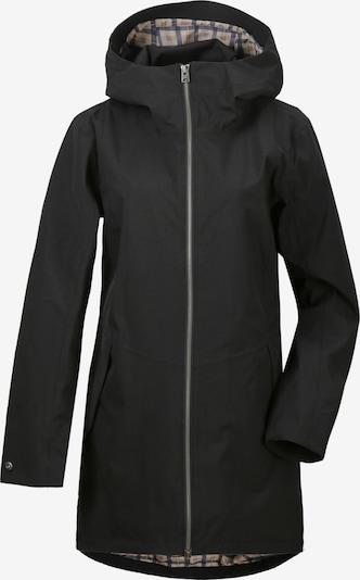 Didriksons Winterparka 'FOLKA WNS PARKA 4' in de kleur Zwart, Productweergave