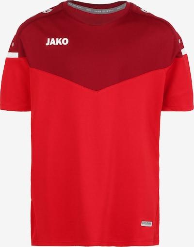 JAKO Funktionsshirt 'Champ 2.0' in rot / bordeaux, Produktansicht