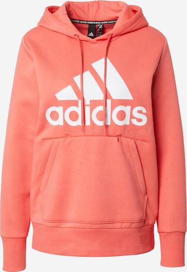 ADIDAS PERFORMANCE Sportsweatshirt in koralle / weiß, Produktansicht