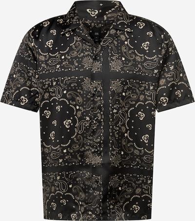 River Island Hemd in nude / schwarz, Produktansicht