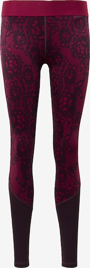 ADIDAS PERFORMANCE Leggings ' Alphaskin Iterations ' in lila / weinrot, Produktansicht