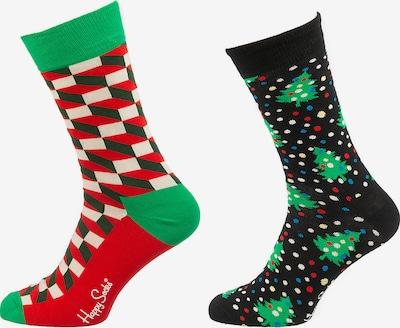 Happy Socks Sokid sinine / mururoheline / punane / must / valge, Tootevaade
