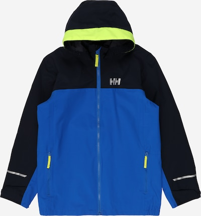 HELLY HANSEN Outdoorjacke 'SHELTER' in blau / navy / limette, Produktansicht