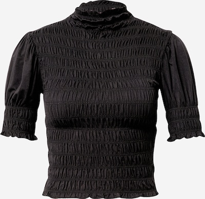NA-KD T-shirt en noir, Vue avec produit