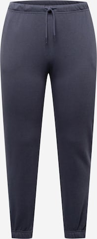 Pantaloni 'CHILLI' de la PIECES Curve pe albastru