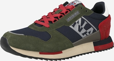 NAPAPIJRI Sneakers 'VIRTUS' in Dark blue / Grey / Dark green / Red, Item view