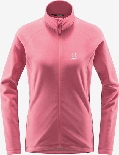 Haglöfs Functionele fleece jas 'Astro' in de kleur Pink / Wit, Productweergave