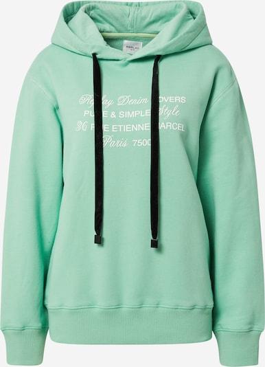 REPLAY Sweatshirt in pastellgrün / schwarz / weiß, Produktansicht