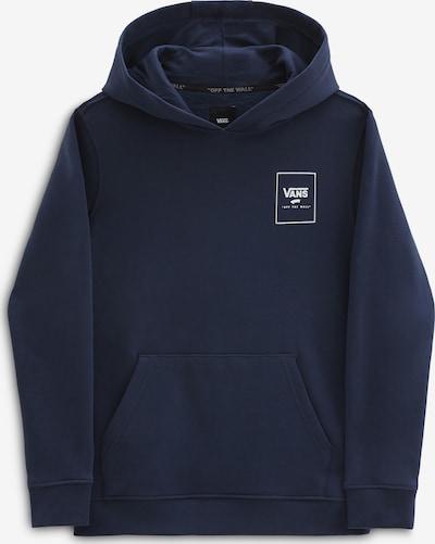 VANS Sportisks džemperis, krāsa - tumši zils / balts, Preces skats