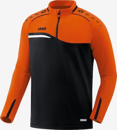 JAKO Sweatshirt in schwarz: Frontalansicht