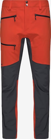 Haglöfs Outdoorhose 'Rugged Flex' in Orange