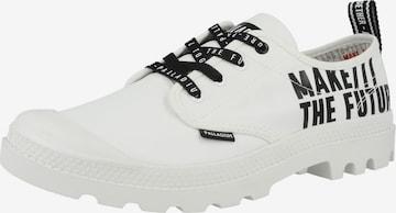 Chaussure à lacets 'Pampa OX Future' Palladium en blanc