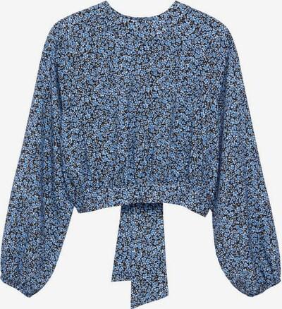 MANGO KIDS Bluse 'Judith' in blau / schwarz / weiß, Produktansicht