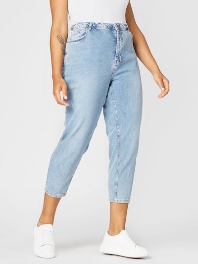 Jeans Zizzi pe albastru denim, Vizualizare model