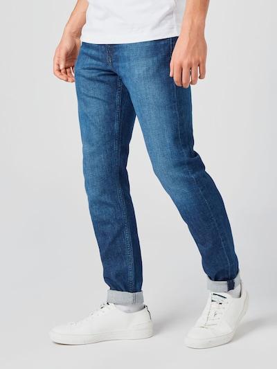 Jeans Calvin Klein Jeans pe denim albastru: Privire frontală