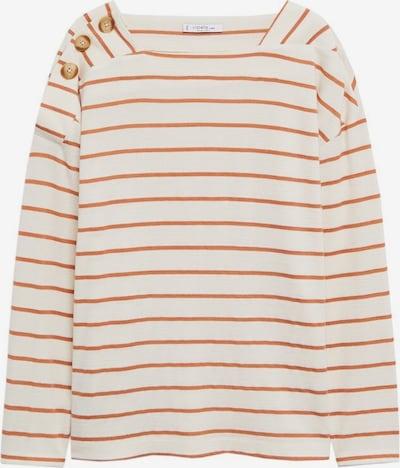 VIOLETA by Mango Shirt 'Terra' in pink / weißmeliert, Produktansicht
