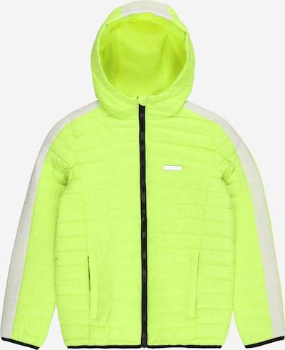 Raizzed Between-season jacket 'Tatum' in neon yellow / white, Item view