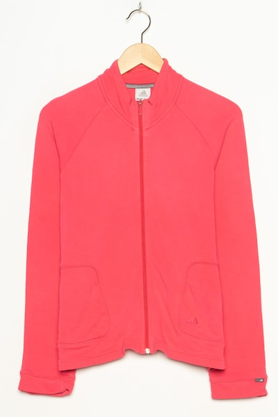 ADIDAS Sportjacke in S in rosa, Produktansicht
