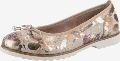 JANE KLAIN Ballerina in taupe / mischfarben, Produktansicht