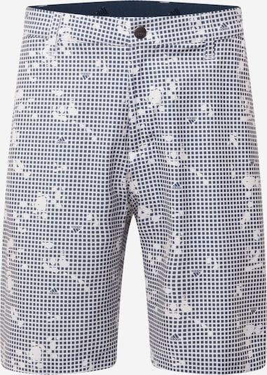 adidas Golf Shorts in blau / weiß, Produktansicht