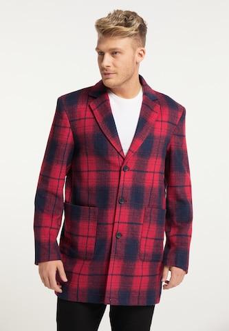 Manteau mi-saison MO en rouge