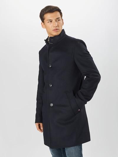 Tommy Hilfiger Tailored Mantel in nachtblau, Modelansicht